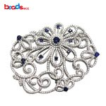 Beadsnice Micro CZ Pave Butterfly Bead 925 Sterling Silver <b>Jewelry</b> Clasp for Necklace Making <b>Handmade</b> <b>Jewelry</b> Findings ID 35287