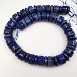 "LiiJi Unique Stock Sale Natural Stone Dye Sodalite Tube Shape 15mm Loose Beads for DIY <b>Jewelry</b> <b>Making</b> 38cm/15"""
