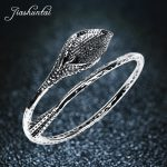 JIASHUNTAI Retro <b>Silver</b> Bangles For Women Lotus Leaf S990 <b>Sterling</b> <b>Silver</b> <b>Jewelry</b> Handmade Fashion Opening