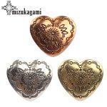 30MM 3pcs/lot Retro Zinc Alloy Sweet Heart Bronze <b>Decorative</b> Vintage Concho Buttons Charms For DIY <b>Jewellery</b> Accessories