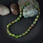 K's Gadgets Natural Stone Women Necklaces Fashion Irregular Beads Handmade Statement <b>Jewelry</b> <b>Accessories</b> Green Indian Necklace