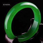 KYSZDL NEW Natural green stone bracelet Icy Species <b>Fashion</b> <b>jewelry</b> Womens'bracelet for gift