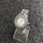 CONTENA Relogio Feminino Luxury <b>Silver</b> watches with diamond Fashion Women Watches Luxury Brand Quartz Watches Woman Dress