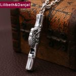 2017 Men Women Pendant 990 Sterling <b>silver</b> Ethnic Whistle Letter Insect Animal Necklace Pendant Christmas Gift Fine <b>Jewelry</b> FP23
