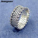 925 sterling <b>silver</b> wedding Rings for women New 2017Autumn Lavish Sparkling Ring men anillos fine <b>jewelry</b> Memnon Memnon RIP0136