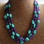 green calaite faceted round purple crystal charms jades chalcedony stone round beads diy newly necklace <b>making</b> 17-18 inch BV359