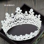 Luxury bride luxury <b>wedding</b> crown tiara personality new <b>wedding</b> dress hair accessories bridal headband female <b>jewelry</b> HD273