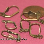 Free Shipping!!200pcs/pack Nickel Free <b>Antique</b> Bronze Leverback Earring finding 9x17mm in WHOLESALE PRICE