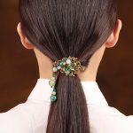 Hair Clip For Women Hair Claws natural stone Hair <b>Jewelry</b> metal Vintage <b>handmade</b> Fashion <b>Jewelry</b> Girls Hair Accessories