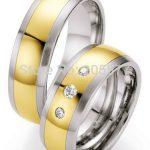 custom <b>handmade</b> fashion <b>jewelry</b> trend 2014 gold color health titanium stainless steel wedding rings sets for women and men
