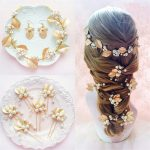 Luxurious Gold Leaves Wedding Bridal <b>Jewelry</b> Sets Bride Headbands Hairpins Earrings For Women Party Hair <b>Jewelry</b> <b>Accessories</b>