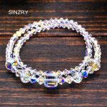 SINZRY <b>jewelry</b> hot <b>handmade</b> crystal Bracelets imported glass crystal DIY time stamp charm bracelets statement <b>jewelry</b>
