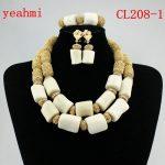 2018 Stylish Red African Costume <b>Jewelry</b> Set Nigerian Wedding African Coral Beads <b>Jewelry</b> Set <b>Handmade</b> Free Shipping CL208-1
