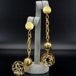 Sunny <b>Jewelry</b> Long Drop Dangle Earrings <b>Fashion</b> <b>Jewelry</b> 2018 For Women High Quality Zircon Ball Hollow Out For Party Daily Wear