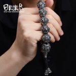 BEIER <b>Fashion</b> Men's High Polished Stainless Steel Buddhism Mantra Bracelet Bring Lucky <b>Jewelry</b> BC8-029