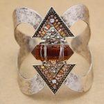 Vintage Silver Arrow Stones Zuni Navajo Bracelets For Women Big Wide Bangles Pulseiras Cuff <b>Native</b> <b>American</b> Indian Men <b>Jewelry</b>