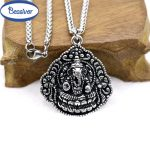 Ganesh Pendants Necklace Love Prayer <b>Antique</b> Silver Elephant Pikanet Women Healthy Powerful Couple <b>Jewelry</b>