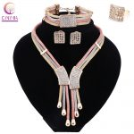 Women Italy Dubai Gold Three Tone Necklace Earrings Bracelet Ring <b>Jewelry</b> Sets Wedding Party Bridal <b>Accessories</b> Costume <b>Jewelry</b>