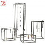 4Pcs/Lot Stainless Steel <b>Jewelry</b> Display Holder Store Window Domestic <b>Necklace</b> Chain Earring <b>Jewelry</b> Organizer Holder Stand Rack