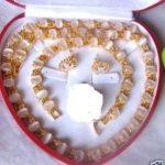Women's Wedding shipping>>New Silver Red gem Ring Earrings Pendant Set silver- moda real silver-<b>jewelry</b>