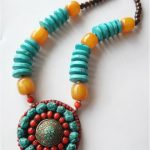 TNL155 Tibetan ethnic <b>handmade</b> big pendants necklace,Nepal vintage <b>handmade</b> <b>jewelry</b>,ethnic fashion necklaces 2015 NEW