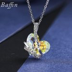 BAFFIN 2017 Wedding <b>Jewelry</b> Crystals From Austria Heart Necklace Pendant For Women <b>Accessories</b> Best Gifts Joyas