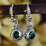 2018 Promotion Brinco Jewelry, Antique Fashion, Exotic Style, Exquisite Craft, Thai Crystal <b>Earrings</b>, Female <b>Earrings</b> <b>Earrings</b>.