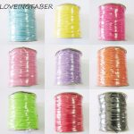 Wholesale 1.5mm Size (1pc About 160meters) Waxed Thread /Polyester Cord For DIY/Fashion <b>Jewelry</b> <b>Making</b> (No stretch)