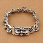 Wholesale S925 <b>Sterling</b> <b>Silver</b> <b>Jewelry</b> Retro Thai <b>Silver</b> Craft Personality Men Trend New <b>Silver</b> Bracelet Style