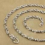 925 Sterling <b>Silver</b> Music Note Fashion Pendant Matching <b>Necklace</b> 9P012 From 18~36 Inches Available