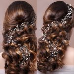 Trendy Gold Silver Pearl Wedding Long Headband tiara For Wedding Bride Hair Accessories Handmade Rhinestones Women Hair <b>Jewelry</b>