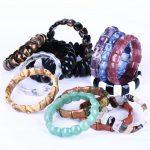 Discount!!! Custom Natural Gemstone Made <b>Jewelry</b> Hand Catenary Bracelet For Birthday Best Gift To Share Gem Transport Beads
