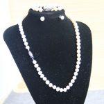 New 7-8mm Natural White Freshwater Pearl Necklace&Pearl Bracelet Earings Set Pearl Beads Fashion <b>Jewelry</b> Set <b>Making</b> Design
