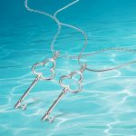 925 Pure silver necklace woman <b>jewelry</b>, key pendant simple fashion <b>accessories</b> exquisite gift.