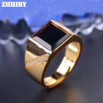 Men Rings Genuine Natural Sapphire Gem Man Real 925 <b>Sterling</b> <b>Silver</b> Precious Gemstone Fine <b>Jewelry</b>