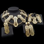 Yulaili With Carving Style Four <b>Jewelry</b> Sets In Party Show Who Will <b>Makes</b> People Feel Classic Taste