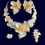 GODKI 103mm Super Luxury Begonia Flower Women Wedding Naija Bride Cubic Zirconia <b>Necklace</b> Dubai 4PCS <b>Jewelry</b> Set High <b>Jewelry</b>