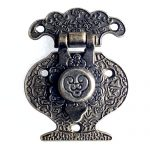 20pcs 41*51mm Antique Latches Clasp Vase Buckle Accessories for Classical Wine Gifts <b>Jewellery</b> Wooden Box Drawer Door <b>Decoration</b>