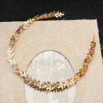 Jonnafe Vintage Gold Leaves Bridal Headband Handmade Tiara Wedding Hair <b>Jewelry</b> Accessories Women Headpiece