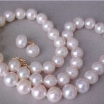 AAA 9-10MM SOUTH SEA WHITE PEARL NECKLACE 925silver YELLOW GOLD CLASP GIFT <b>EARRINGS</b>