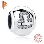 BELAWANG Luxury 925 Sterling Silver Zodiac Signs Libra Charm Beads Fit Original BW Bracelet Necklace Fashion <b>Jewelry</b> <b>Making</b>