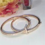 Designer Fashion 925 <b>Sterling</b> <b>Silver</b> <b>Jewelry</b> 3A Cubic Zirconia Party Bangle