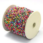 2mm 100yards/roll Colorful Opaque Seed Boho Small Beads Cords Thread for <b>Jewelry</b> Findings <b>Making</b> DIY Accessories Polyester Cords