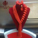 Dubai Orange Flowers <b>Jewelry</b> Sets Brand New <b>Handmade</b> African Nigerian Wedding Beads Supplies For Costume <b>Jewelry</b> Store 2017