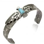 Vintage Gold Silver Antique Carve Eagle Navajo bracelets for Women Bangles Pulseiras Cuff <b>Native</b> <b>American</b> Indian Men <b>Jewelry</b>