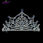 High Quality Full Cubic Zirconia CZ Bridal <b>Wedding</b> Tiaras Crowns Girl Women Hair Accessories <b>Jewelry</b> for Birthday TR15060