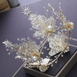 2018 New Bridal Crown <b>Handmade</b> Crystal Zircon Wedding Star Tiaras Bridal <b>Jewelry</b> Vintage Crown Bride Crown Tiara Headdress CR095