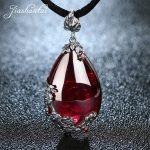 JIASHUNTAI Retro 100% 925 <b>Silver</b> Sterling Royal Natural Stones Pendant Necklace <b>Jewelry</b> For Women Vintage