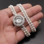 Classic Fashion Jewelry high-end multi-pearl combination pieces of 925 sterling <b>silver</b> charm <b>bracelet</b> watch H201