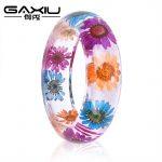 Bangle Bracelets Womens <b>Jewelry</b> <b>Handmade</b> Dry Flower Fashion Women Resin Bangle Bracelet Bracelets Female Clothing Accessories